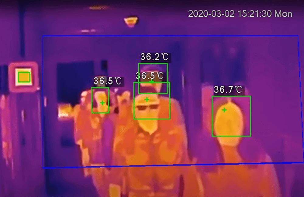 Soluția cu termoviziune pentru măsurarea temperaturii umane de la Dahua